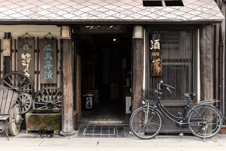 Art Photography Sake Shop