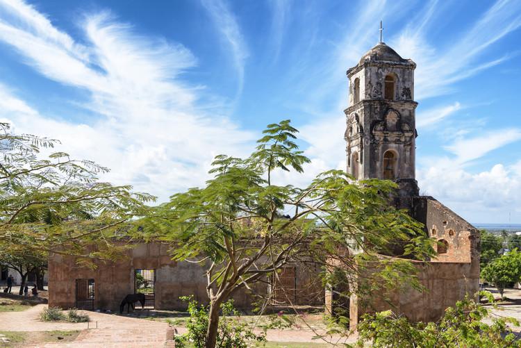 Taide valokuvaus Santa Ana Church in Trinidad