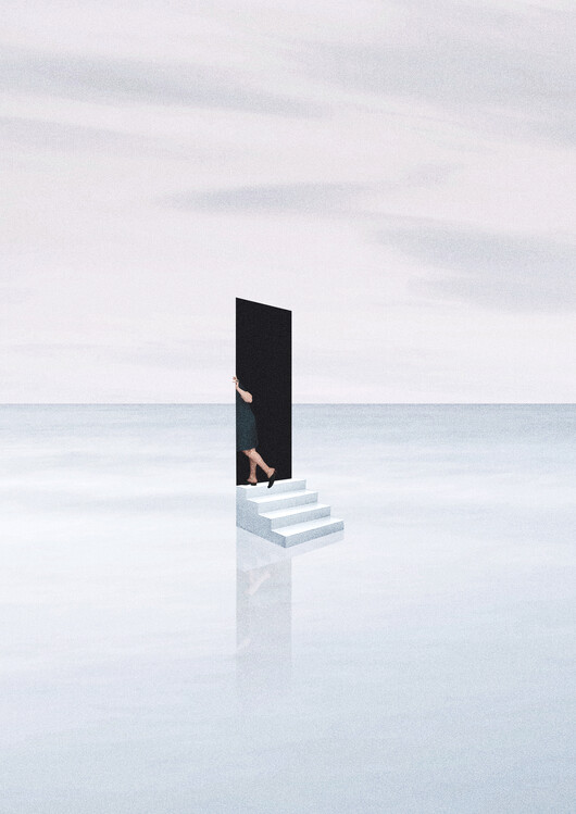 Illustration Silent escape