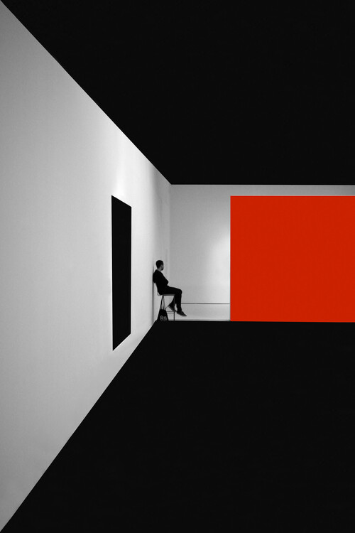 Art Photography Simple Red
