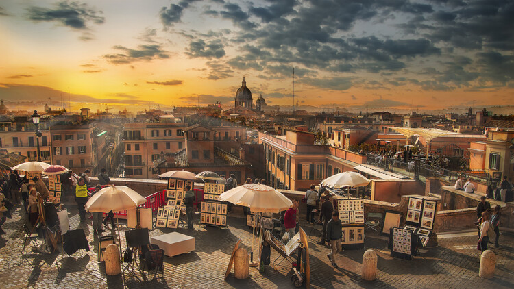 Art Photography Skyline di Roma
