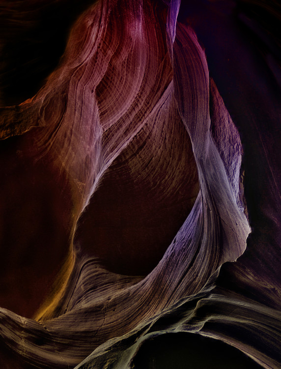 Art Photography Solo Journey In Earths Womb 1