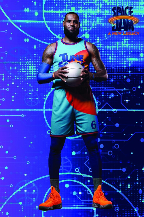 Poster Space Jam 2 - LeBron
