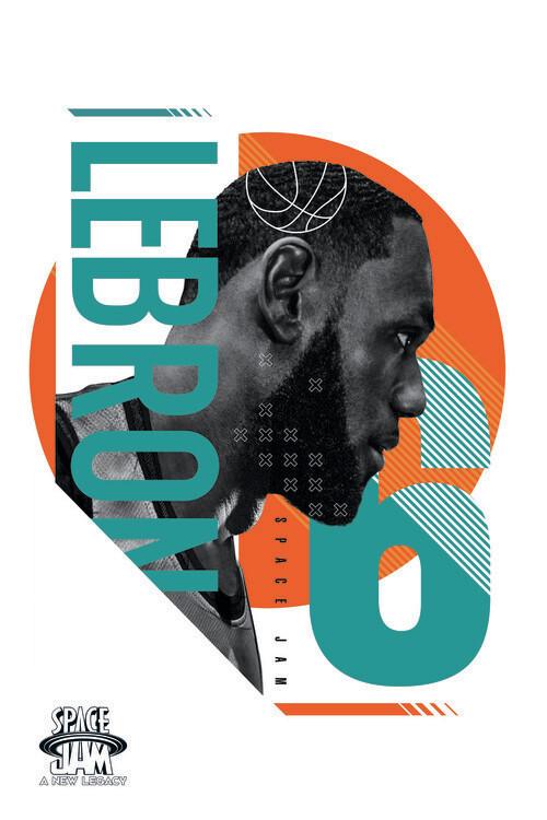 Poster Space Jam 2 - LeBron James 6