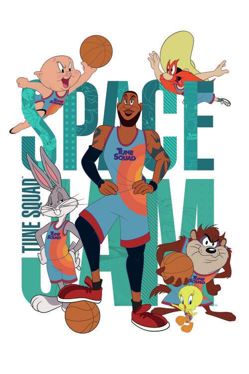 Poster Space Jam 2 - Tune Squad 1