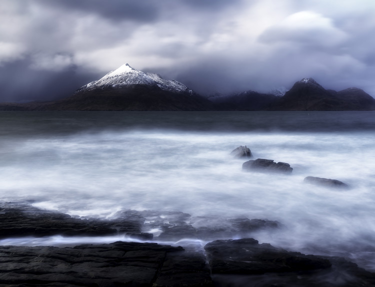 Art Photography Stormy Elgol