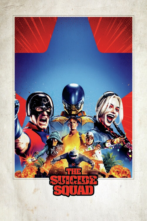 Art Poster Suicide Squad 2 - Theatrical