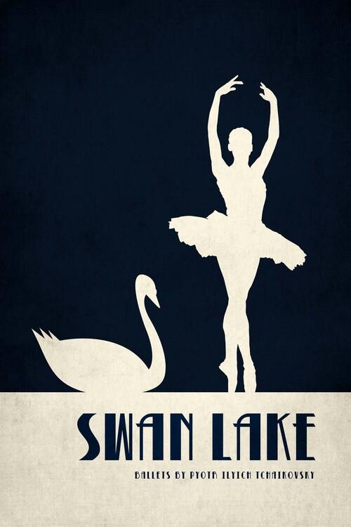 Illustration Swan Lake