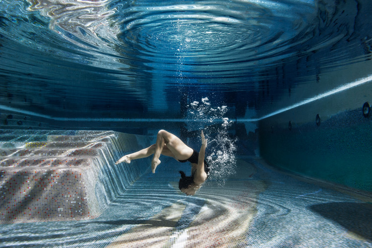 Art Photography Swimming Inside