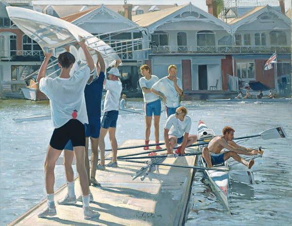 Fine Art Print Swing Over, 1996