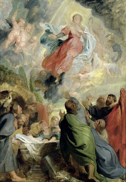 Fine Art Print The Assumption of the Virgin Mary