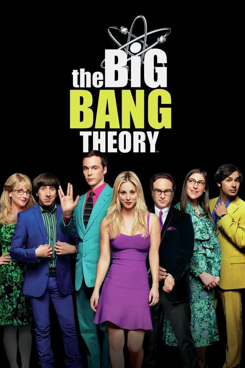 Poster The Big Bang Theory - Squad