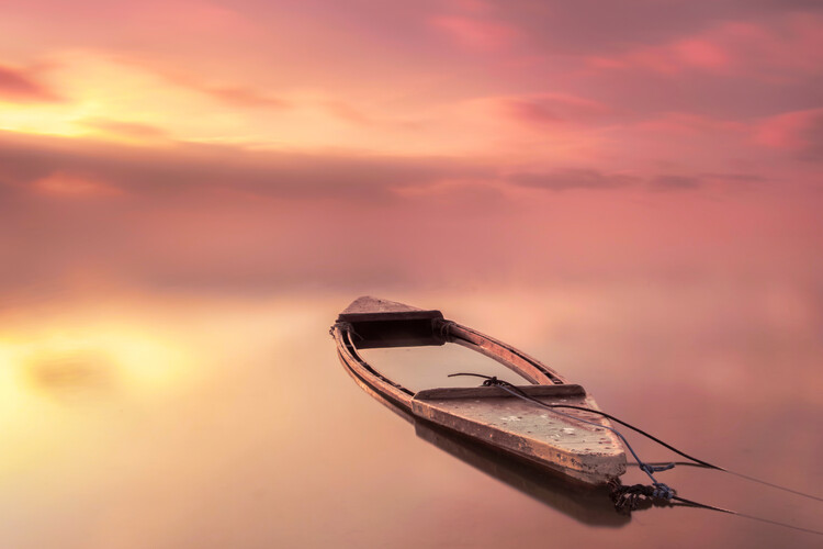Art Photography The boat
