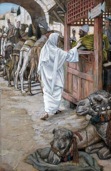 Fine Art Print The Calling of St. Matthew