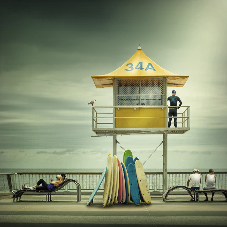 Art Photography The life guard