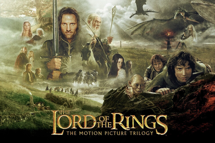 Art Poster The Lord of the Rings - Trilogy
