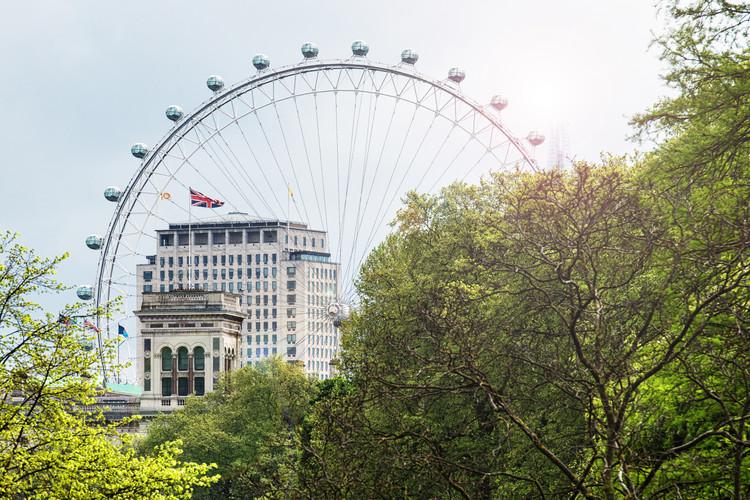 Art Photography The Millennium Wheel View