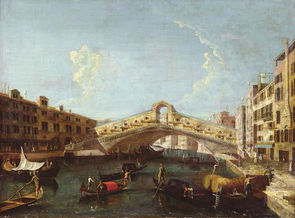 Fine Art Print The Rialto in Venice