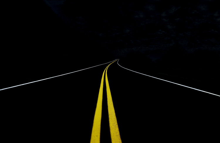 Art Photography The Road to Nowhere
