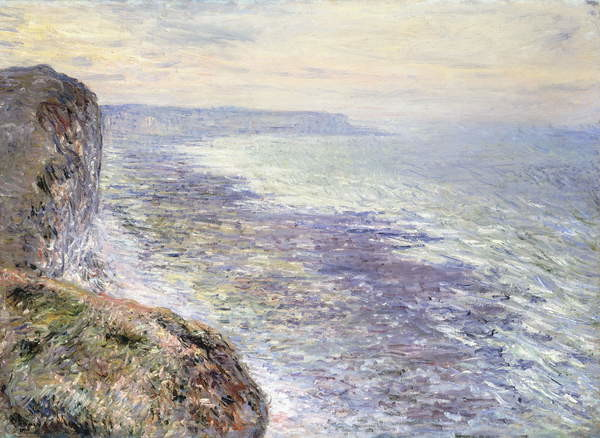 Fine Art Print The Sea near Fecamp; Pres de Fecamp, Marine, 1881