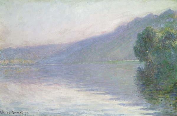 Fine Art Print The Seine at Port-Villez, 1894