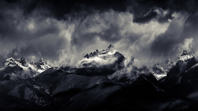 Art Photography Tibetan Land Devildom