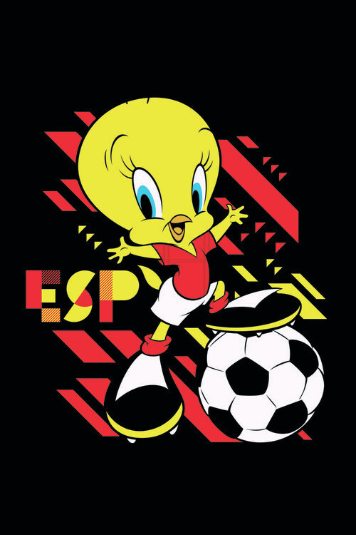 Art Poster Tweety and football
