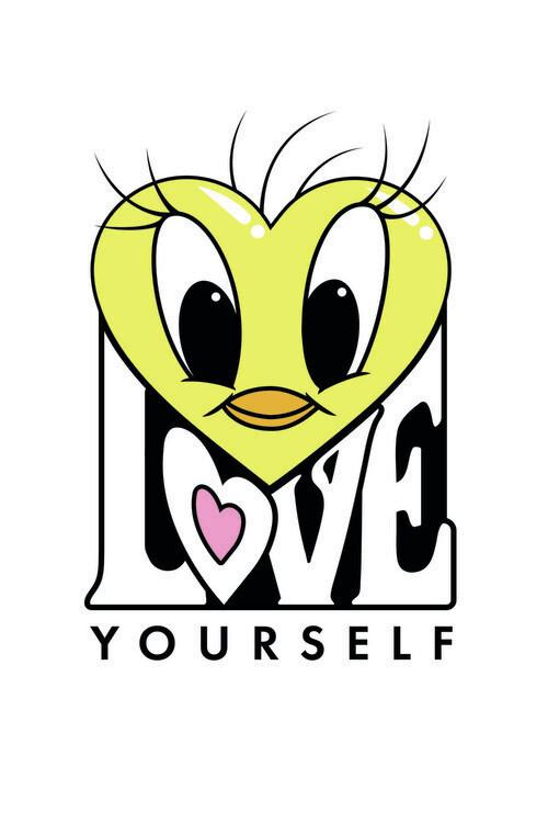 Art Poster Tweety - Love