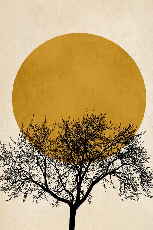 Illustration Winter Morning