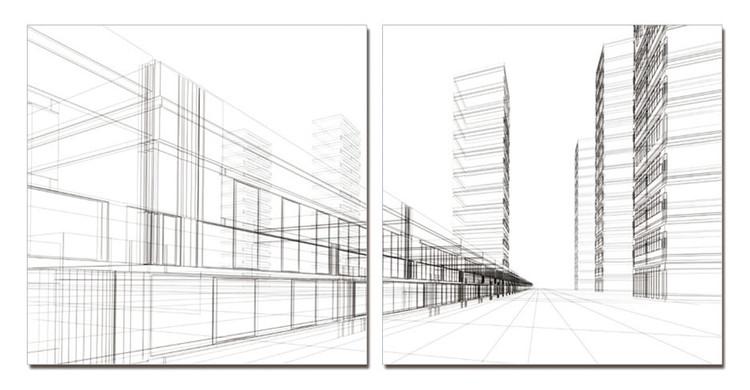 Arte moderna Architecture - City
