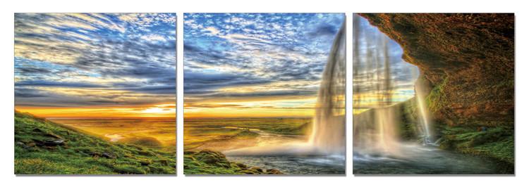 Arte moderna Dream about Paradise - Waterfall