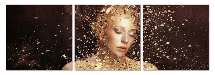 Arte moderna Female - Gold dusting
