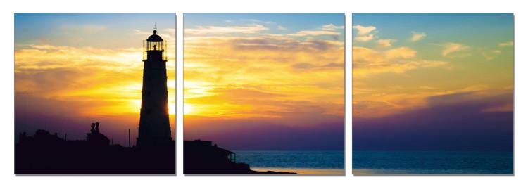 Arte moderna Lighthouse at Sunrise