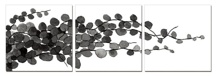 Arte moderna Modern Design - Young Branches (B&W)