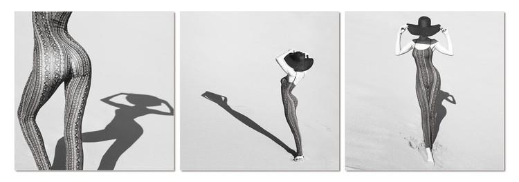 Arte moderna Silhouette of woman