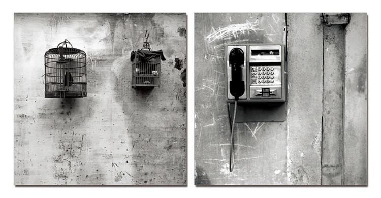 Arte moderna Street Art Photo Industrial (B&W)