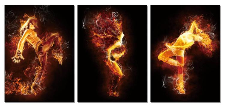 Arte moderna The fiery woman
