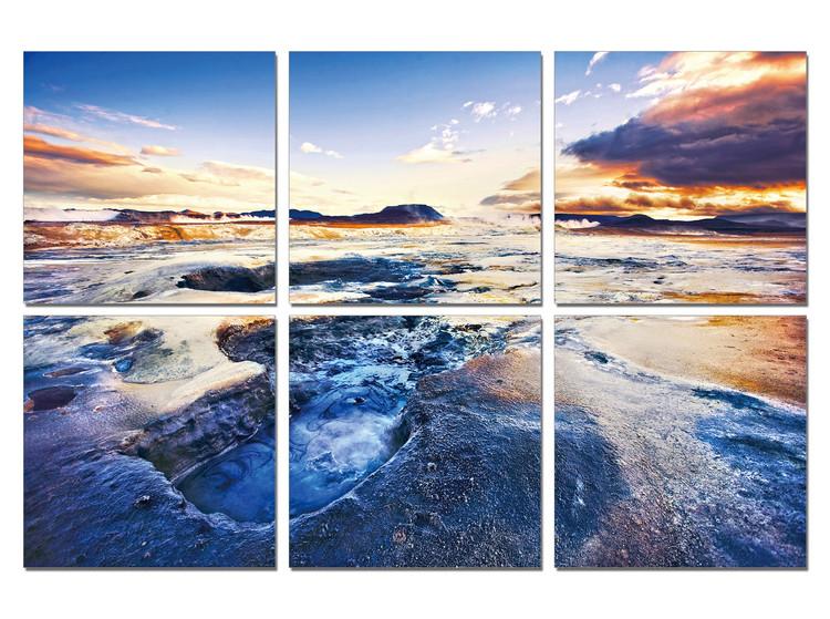 Arte moderna The tide in sunset