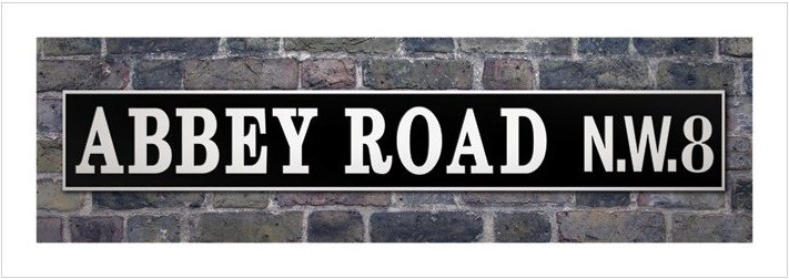 Impressão artística Abbey Road