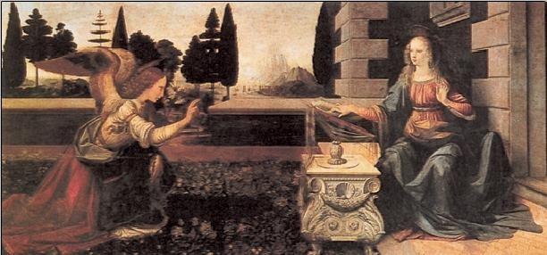 Impressão artística Annunciation