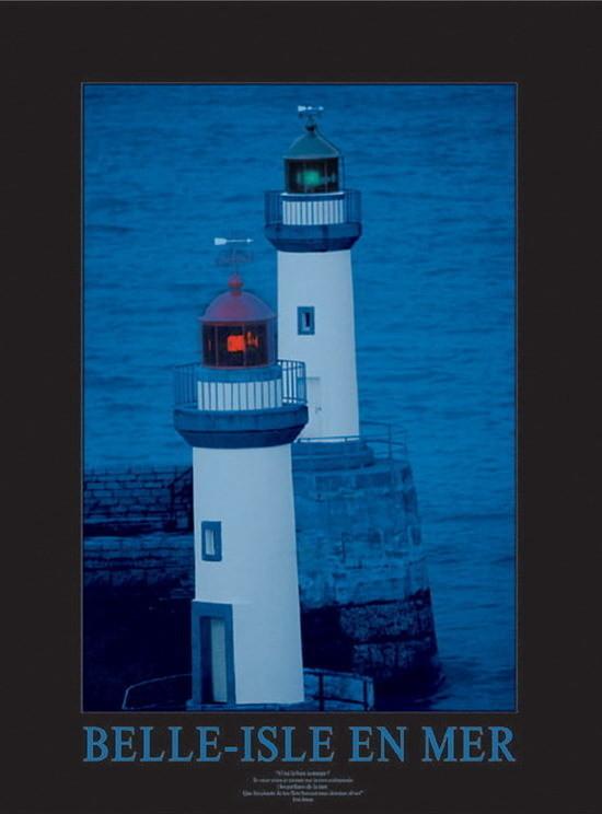 Impressão artística Belle-Isle-en-Mer