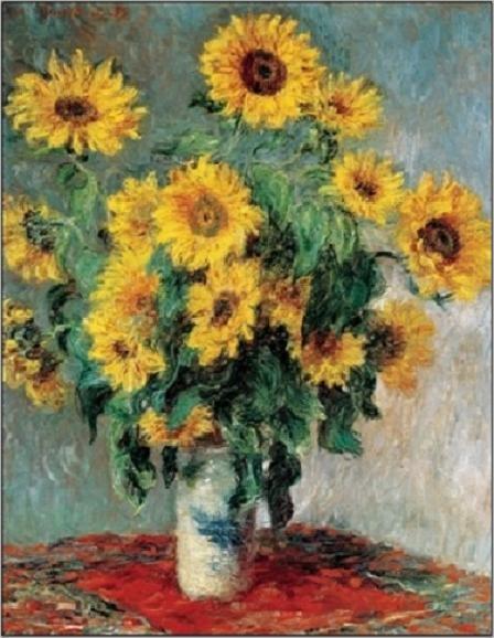 Impressão artística Bouquet of Sunflowers, 1880-81