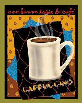 Impressão artística Cappuccino