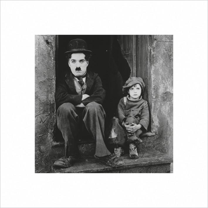 Impressão artística Charlie Chaplin