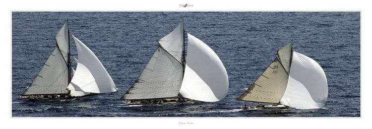 Impressão artística Classic Boats