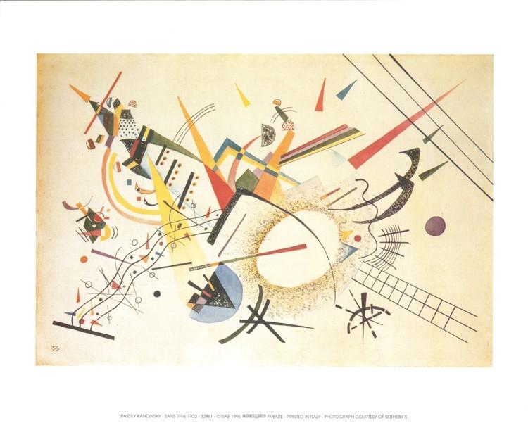 Impressão artística Composition 1922