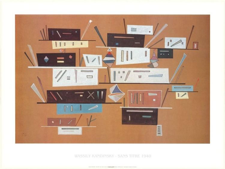 Impressão artística Composition 1940
