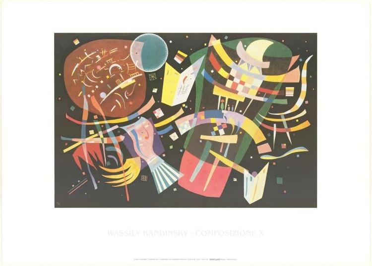 Impressão artística Composition X