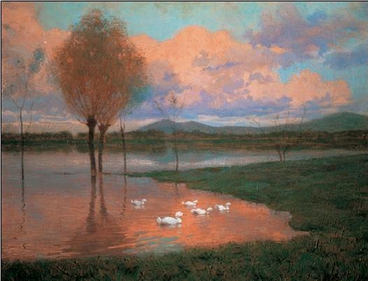 Impressão artística Floodplain - Flooded Land
