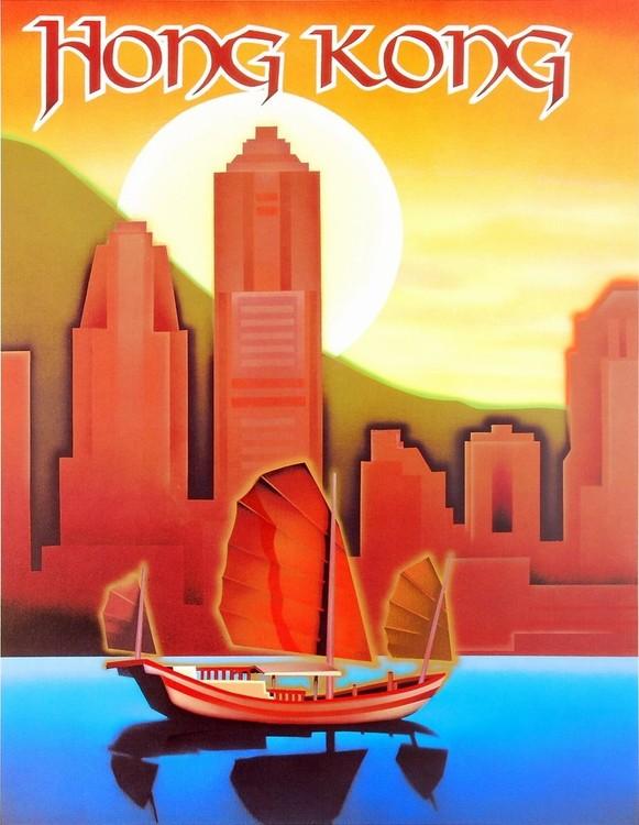 Impressão artística Hong Kong